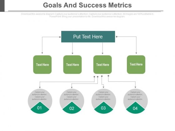 Goals And Success Metrics Ppt Slides