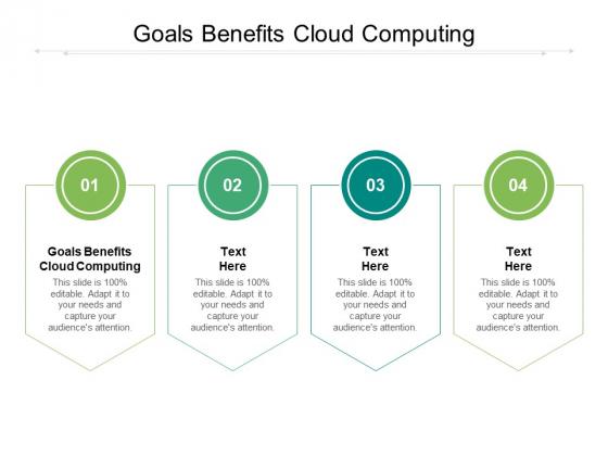 Goals Benefits Cloud Computing Ppt PowerPoint Presentation File Summary Cpb Pdf