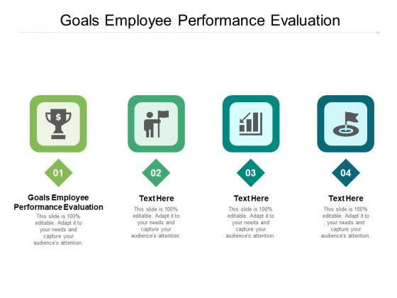Goals Employee Performance Evaluation Ppt PowerPoint Presentation Model Themes Cpb Pdf