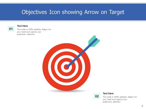 Goals_Icon_Objectives_Arrows_Ppt_PowerPoint_Presentation_Complete_Deck_Slide_5