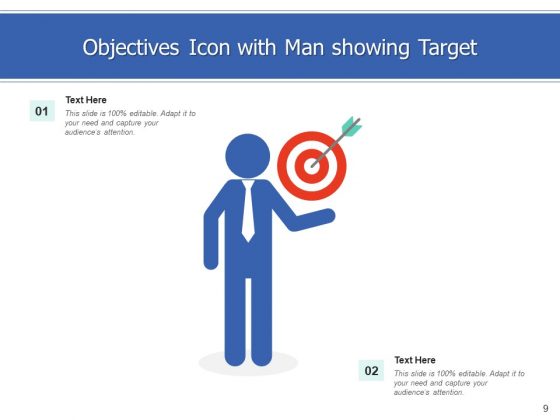 Goals_Icon_Objectives_Arrows_Ppt_PowerPoint_Presentation_Complete_Deck_Slide_9