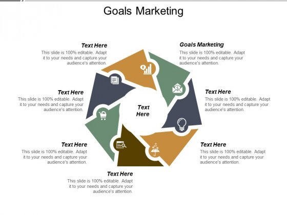 Goals Marketing Ppt PowerPoint Presentation Professional Microsoft Cpb