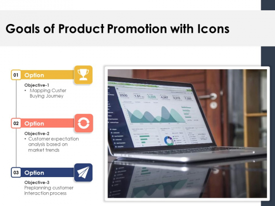 Goals_Of_Product_Promotion_With_Icons_Ppt_PowerPoint_Presentation_Icon_Guidelines_PDF_Slide_1