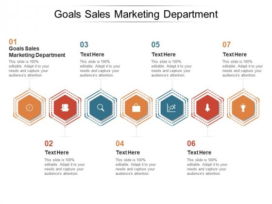 Goals Sales Marketing Department Ppt PowerPoint Presentation Summary Template Cpb Pdf