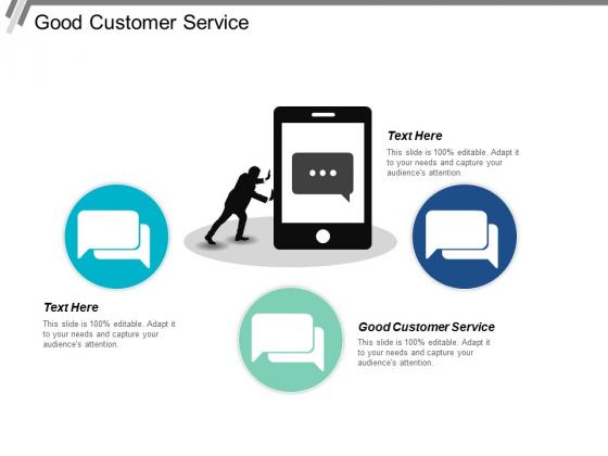 Good Customer Service Ppt PowerPoint Presentation Icon Format Ideas