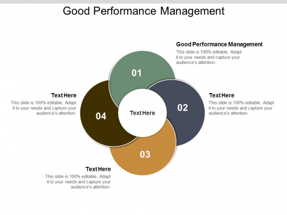 Good Performance Management Ppt PowerPoint Presentation Professional Format Cpb