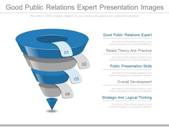 Good Public Relations Expert Presentation Images