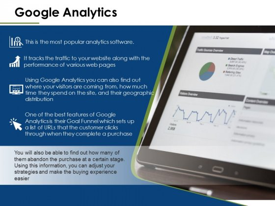 Google Analytics Ppt PowerPoint Presentation Slides Shapes