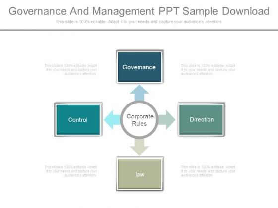 Governance And Management Ppt Sample Download
