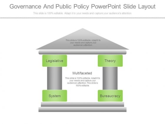 Governance And Public Policy Powerpoint Slide Layout - PowerPoint