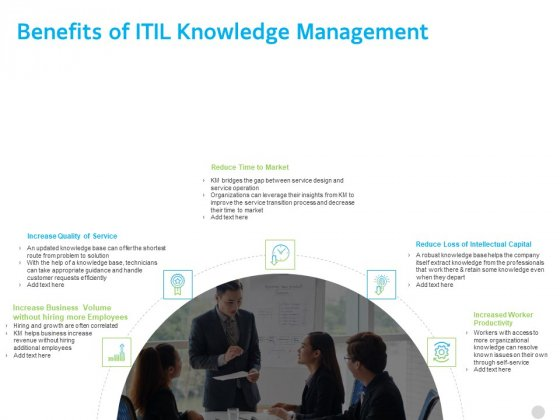 Governance Benefits Of ITIL Knowledge Management Ppt PowerPoint Presentation Layouts Mockup PDF
