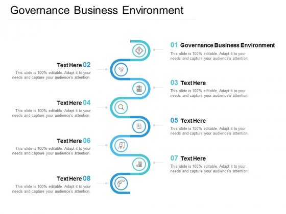 Governance Business Environment Ppt PowerPoint Presentation Styles Example Cpb
