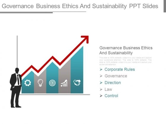 Governance Business Ethics And Sustainability Ppt Slides