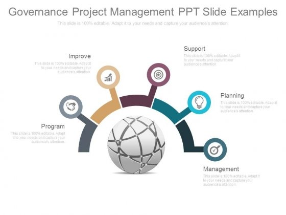 Governance Project Management Ppt Slide Examples