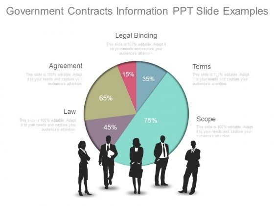 Government Contracts Information Ppt Slide Examples