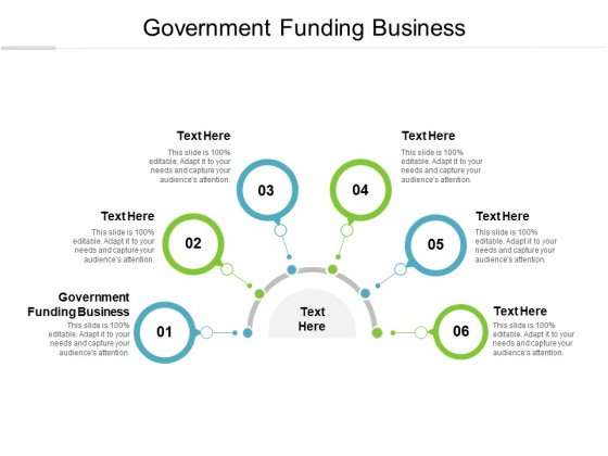 Government Funding Business Ppt PowerPoint Presentation Inspiration Influencers Cpb