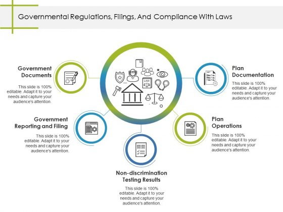 Governmental Regulations Filings And Compliance With Laws Ppt PowerPoint Presentation Ideas Show