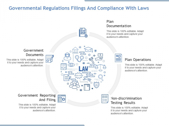 Governmental Regulations Filings And Compliance With Laws Ppt PowerPoint Presentation Infographic Template Visuals