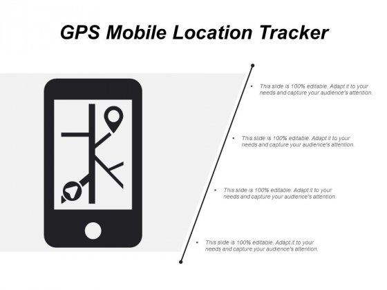 Gps Mobile Location Tracker Ppt PowerPoint Presentation Inspiration Template