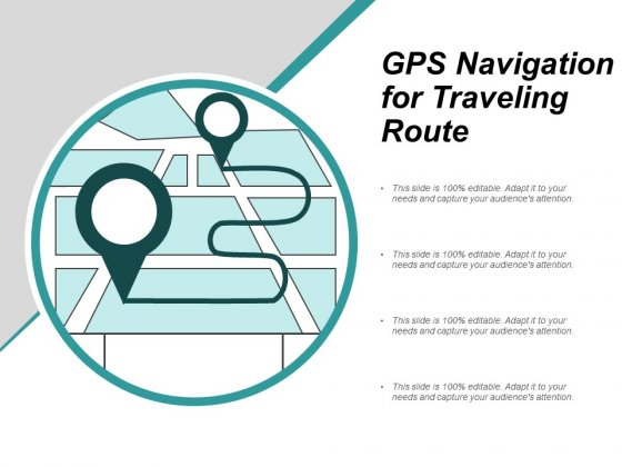 Gps Navigation For Traveling Route Ppt PowerPoint Presentation Layouts Graphics Design