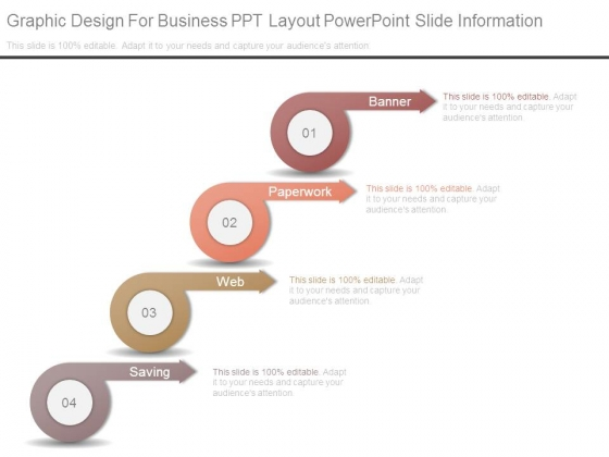 Graphic Design For Business Ppt Layout Powerpoint Slide Information