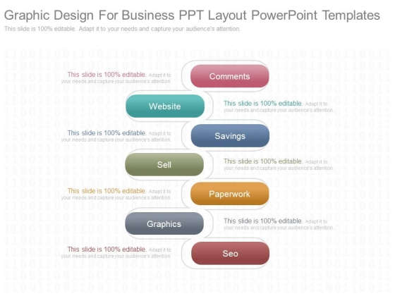Graphic Design For Business Ppt Layout Powerpoint Templates