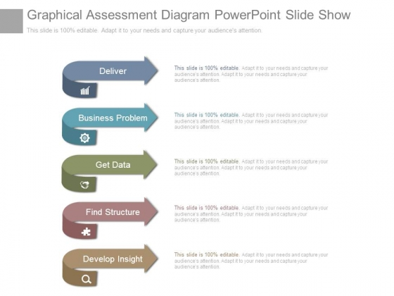 Graphical Assessment Diagram Powerpoint Slide Show