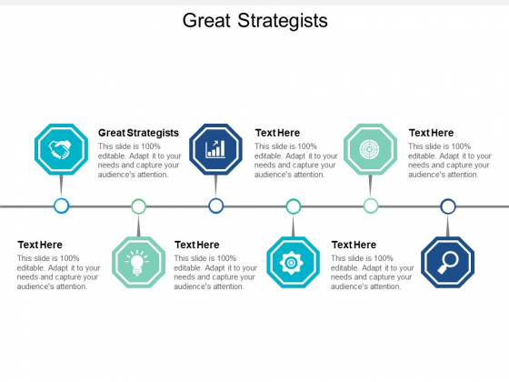 Great Strategists Ppt PowerPoint Presentation Infographics Microsoft Cpb