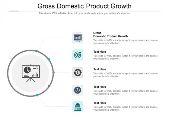 Gross Domestic Product Growth Ppt PowerPoint Presentation Inspiration Background Designs Cpb Pdf