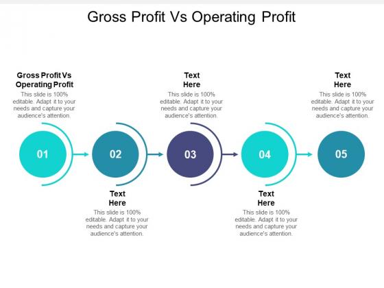 Gross Profit Vs Operating Profit Ppt PowerPoint Presentation Layouts Guide Cpb Pdf