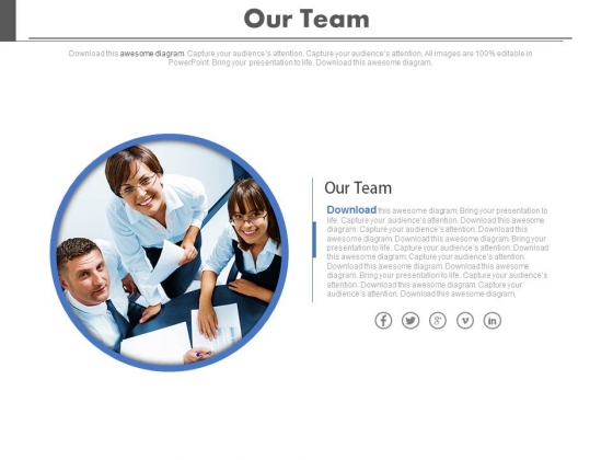 Group To Accomplish A Task Powerpoint Slides