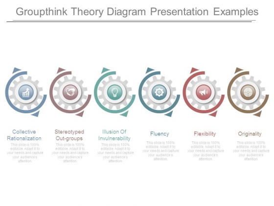 Groupthink Theory Diagram Presentation Examples Powerpoint Templates