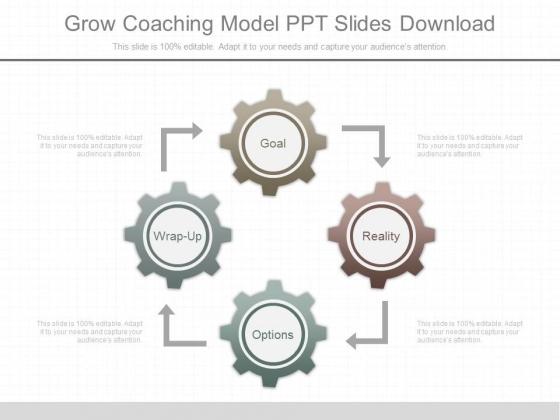 Grow Coaching Model Ppt Slides Download