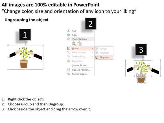 Grow_Dollar_Plant_With_Hands_Powerpoint_Template_2