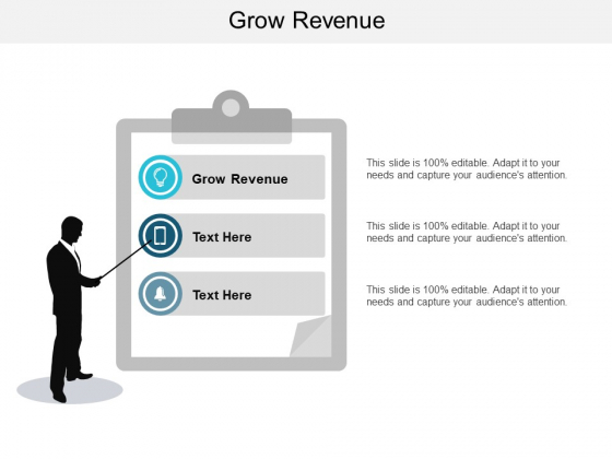 Grow Revenue Ppt PowerPoint Presentation Infographic Template Introduction Cpb
