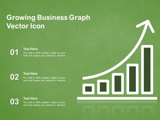Growing Business Graph Vector Icon Ppt PowerPoint Presentation Styles Gallery