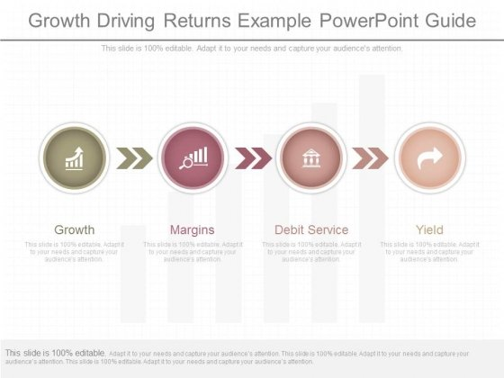 Growth Driving Returns Example Powerpoint Guide