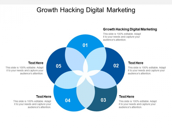 Growth Hacking Digital Marketing Ppt PowerPoint Presentation Portfolio Graphics Download Cpb
