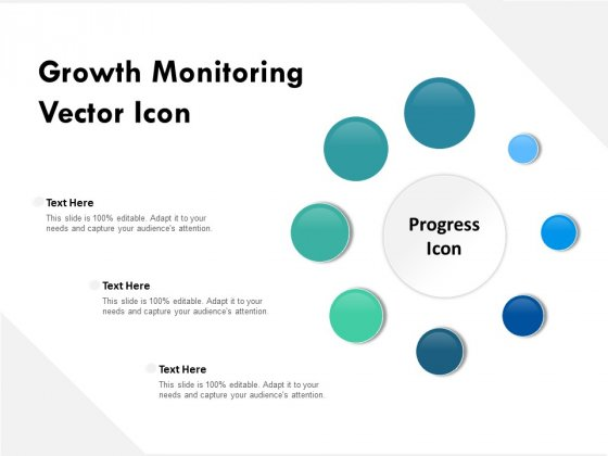 Growth Monitoring Vector Icon Ppt PowerPoint Presentation Outline Inspiration