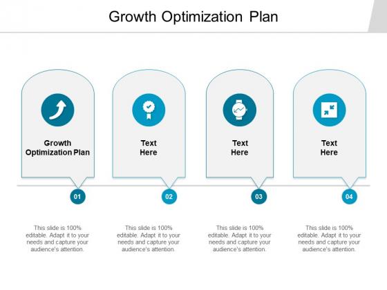 Growth Optimization Plan Ppt PowerPoint Presentation File Slideshow Cpb
