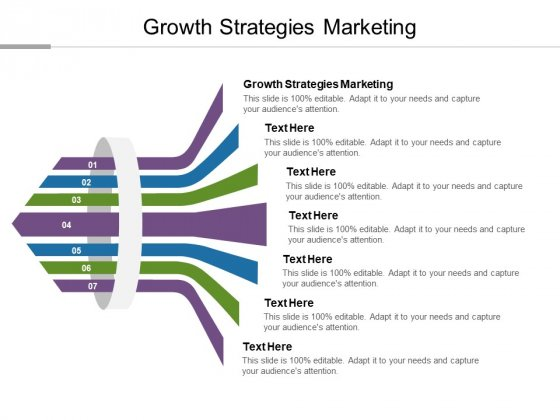 Growth Strategies Marketing Ppt PowerPoint Presentation Inspiration Slide Portrait Cpb