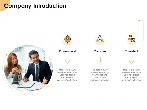 Growth Strategy And Growth Management Implementation Company Introduction Ppt Ideas Layouts PDF