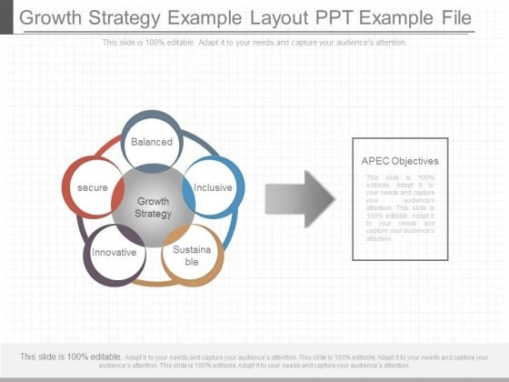 Growth Strategy Example Layout Ppt Example File