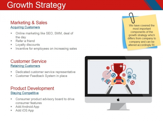 Growth Strategy Ppt PowerPoint Presentation Outline Grid