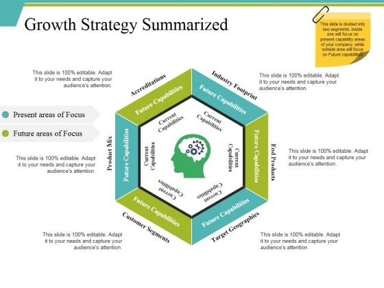 Growth Strategy Summarized Ppt PowerPoint Presentation Icon Outline