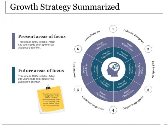 Growth Strategy Summarized Ppt PowerPoint Presentation Outline Tips