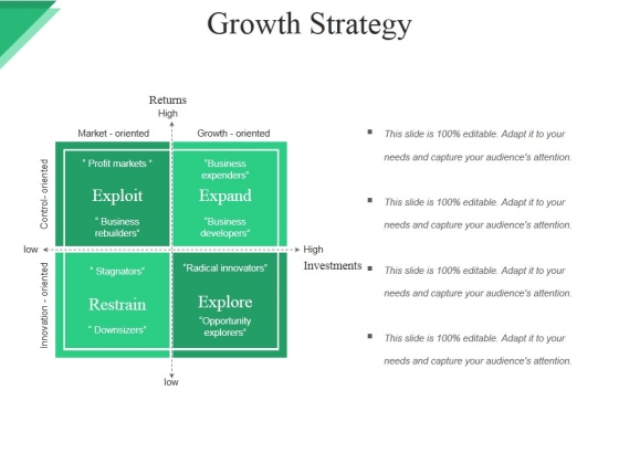 Growth Strategy Template Ppt PowerPoint Presentation Professional Slides