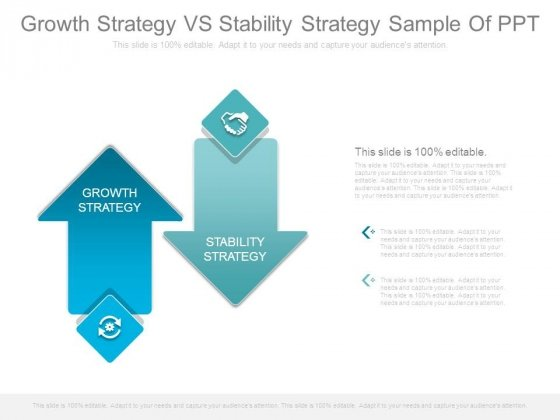 Growth Strategy Vs Stability Strategy Sample Of Ppt