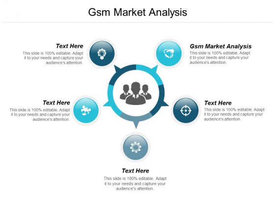 Gsm Market Analysis Ppt Powerpoint Presentation Summary Influencers Cpb