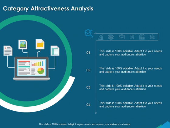 Guide For Managers To Effectively Handle Products Category Attractiveness Analysis Professional PDF